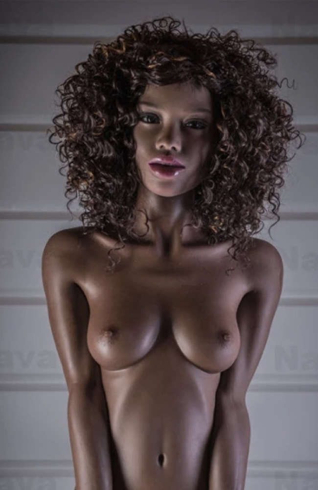 Elena: Curly Hair Black Sex Doll - WM Doll - Buy Cheap Sex Dolls