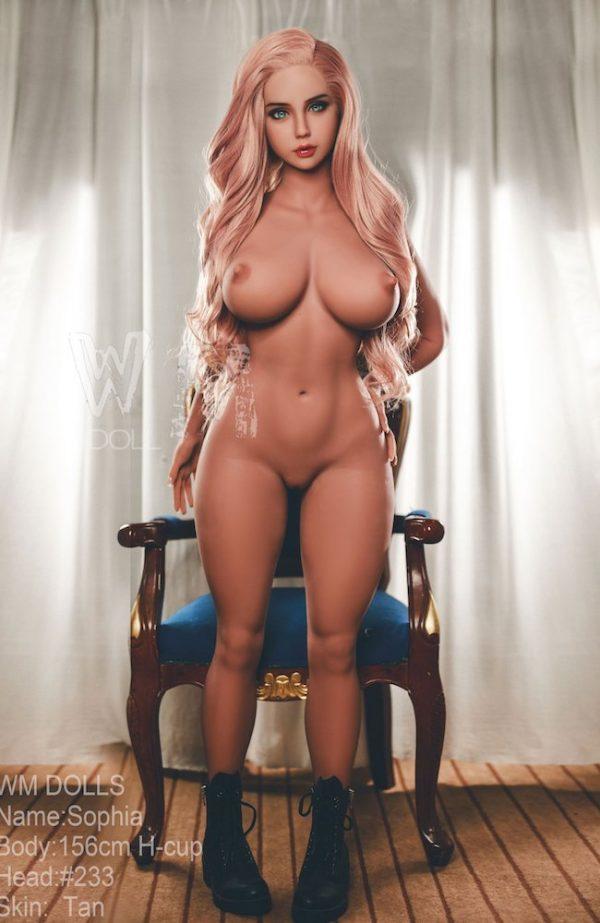Nicole: Pink Hair Sex Doll - WM Doll - Buy Cheap Sex Dolls