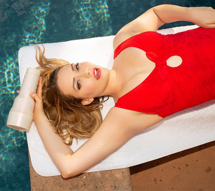Mia Malkova Fleshlight - Lvl Up Fleshlight Sleeve - Lvl Up Fleshlight Texture