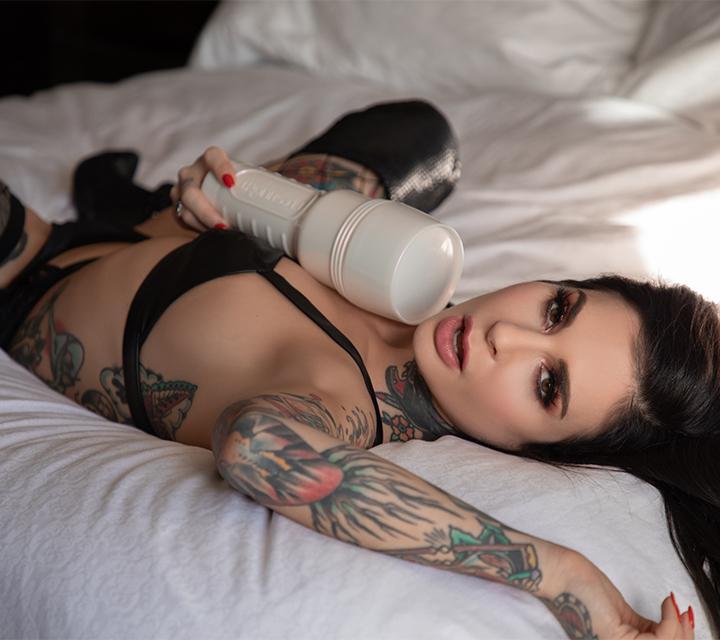 Joanna Angel Fleshlight - Misfit Fleshlight Sleeve - Punk Fleshlight Texture - Lotus Fleshlight Sleeve