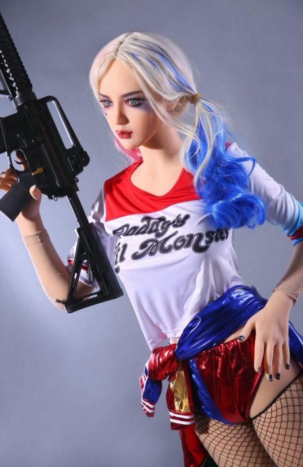 Buy Cheap Sex Dolls - Buy Realistic Sex Doll - Harley Quinn Sex Doll - Margot Robbie Sex Doll