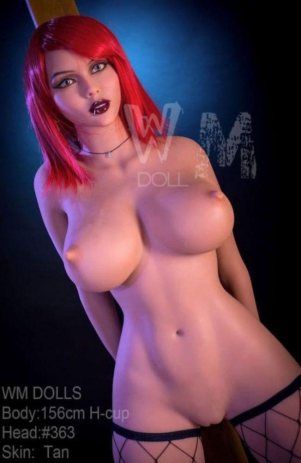 Buy Cheap Sex Dolls - Buy Realistic Sex Dolls - Rae: Redhead Goth Sex Doll