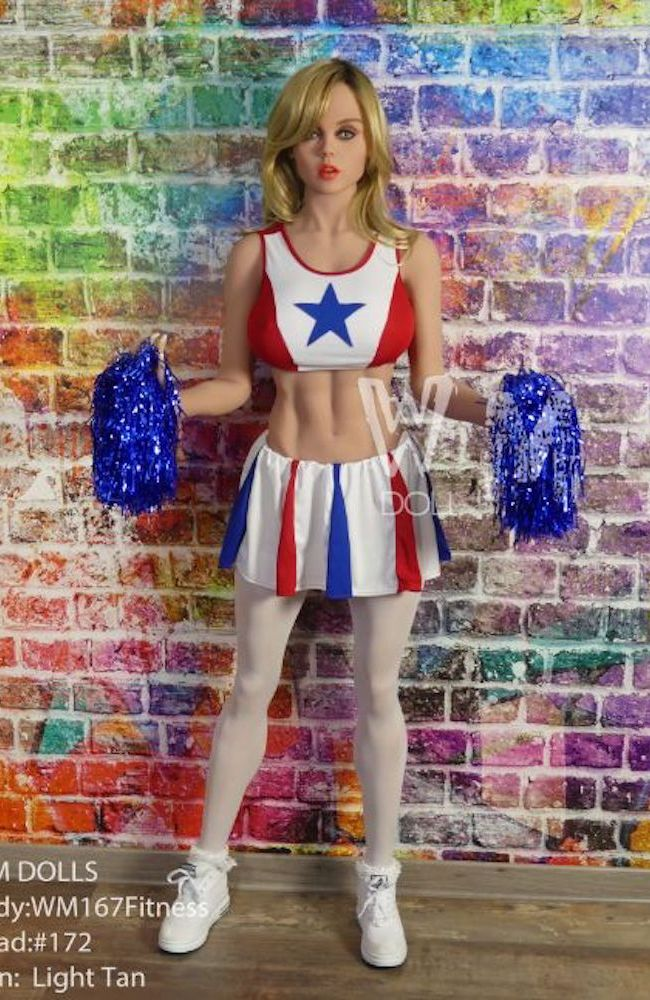 Buy Cheap Sex Dolls - Buy Realistic Sex Dolls - Tammy: Cheerleader Sex Doll