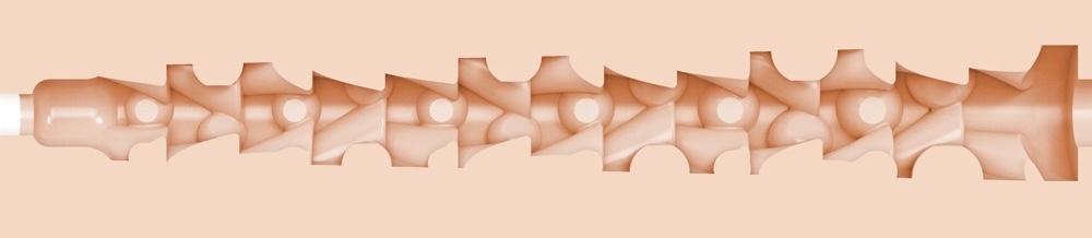 Vina Sky Fleshlight Review - Vivacious Fleshlgiht Sleeve - Exotica Fleshlight Texture