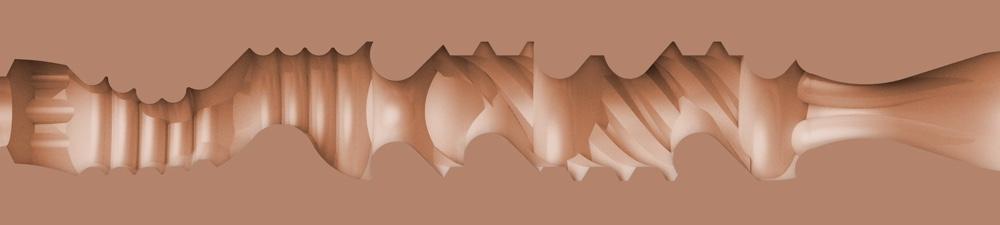 Eliza Ibarra Fleshlight - Ethereal Fleslight Texture - Ethereal Fleshlight Sleeve