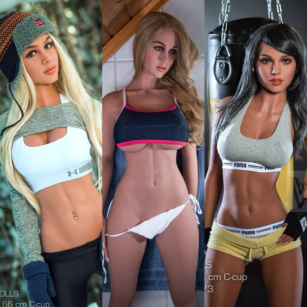 Gym Girl Sex Doll - Athletic Sex Doll - Sporty Sex Doll - Fitness Sex Doll